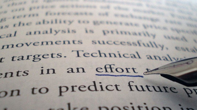 Why You Should Track Your Efforts, Not Your Achievements