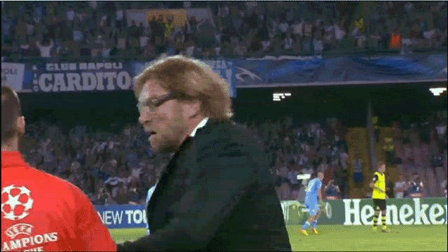 Jürgen Klopp Is, Uh, Upset