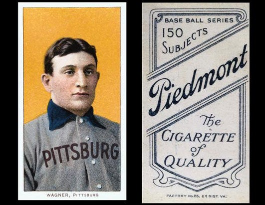 Honus Wagner Baseball Card Auctioned for $1.62 million