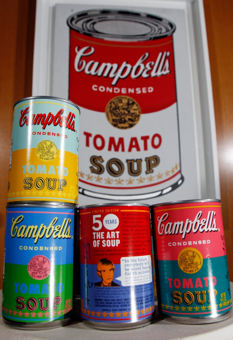 Campbell's Unveils Andy Warhol-Inspired Cans to Coincide with Launch of 'Hipster Soup' Line
