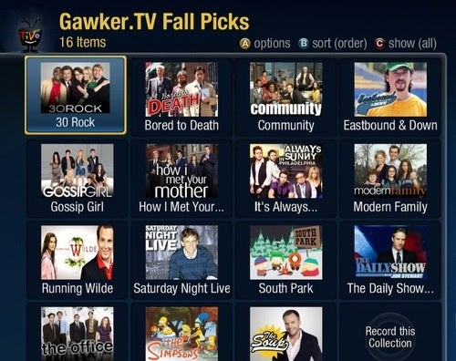 TiVo Users: Subscribe to All of Gawker.TV's Favorite Shows in an Instant
