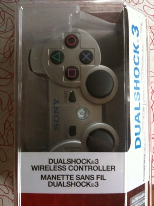 PS3's Satin Silver Dualshock