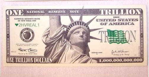 America's Having a Trillion-Dollar Sale