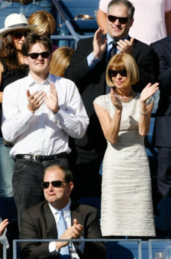 Anna Wintour's Absence a Bad Luck Charm for Federer