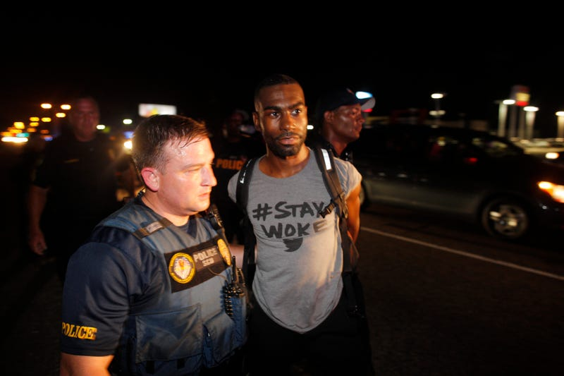 DeRay Mckesson and Several Journalists Arrested at Black Lives Matter Protests