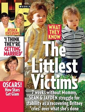 'Us Weekly' Urges You to Please Think of the Children