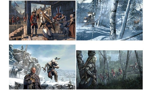 Leaked Assassin's Creed III Pics Reveal British Ambush