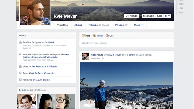 Facebook Updates Timeline, Makes it Single-Column and Adds More Boxes
