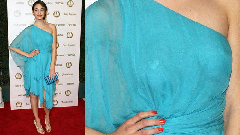 Nobody Wore a Freaking Bra to the Vanity Fair Party