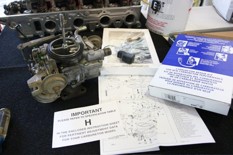 Rebuild Your Carburetor
