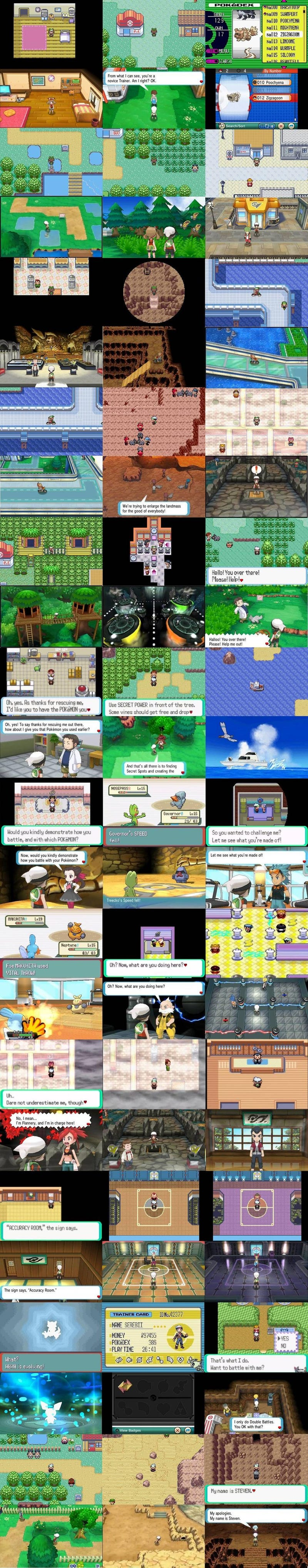 What Over A Decade of Progress In Pokémon Looks Like