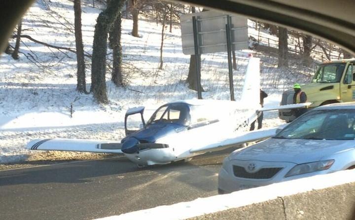 Plane Makes Emergency Landing on Bronx Expressway