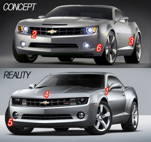 2010 Chevy Camaro: From Concept To Reality