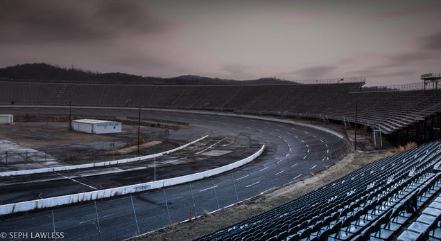 NASCAR's Original Racetrack Is an Abandoned Ruin Today