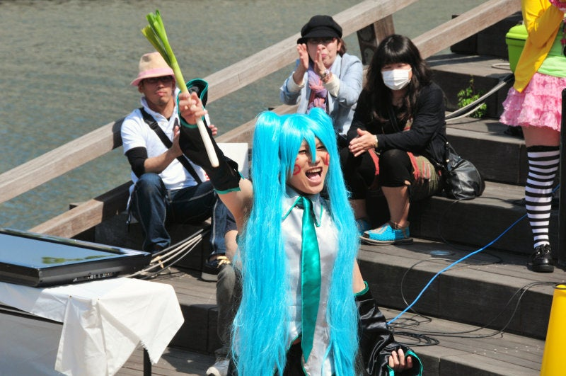 Cosplaying Down by the River