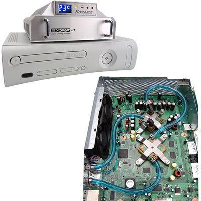 Do-It-Yourself Water-Cooled Xbox 360 Kit