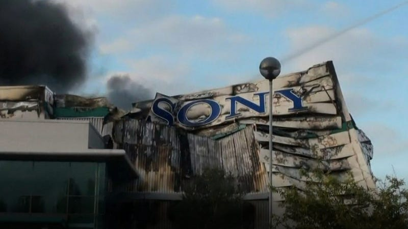 Was the Sony Takedown Looting Rioters or Professional Crooks?