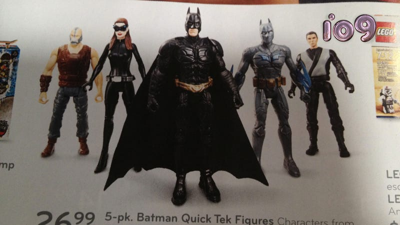 Who is this mysterious new Dark Knight Rises character?