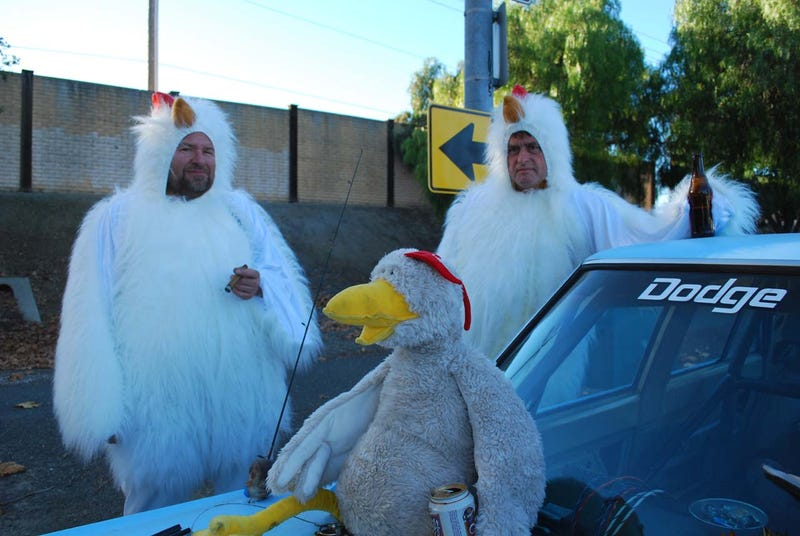 The Faster Farms Chickens Suit Up For Arse Freeze-A-Palooza LeMons Glory