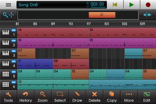 NanoStudio For iPhone Puts a Recording Studio In Your Pocket