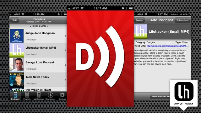 Downcast Is an Incredible Podcast Downloader, Player, and Manager for iPhone