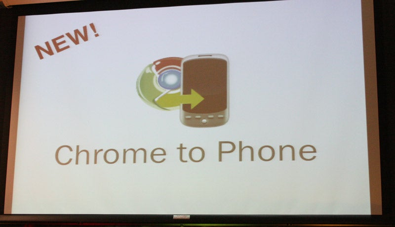Google Chrome to Phone Connects Your Desktop to Your Android