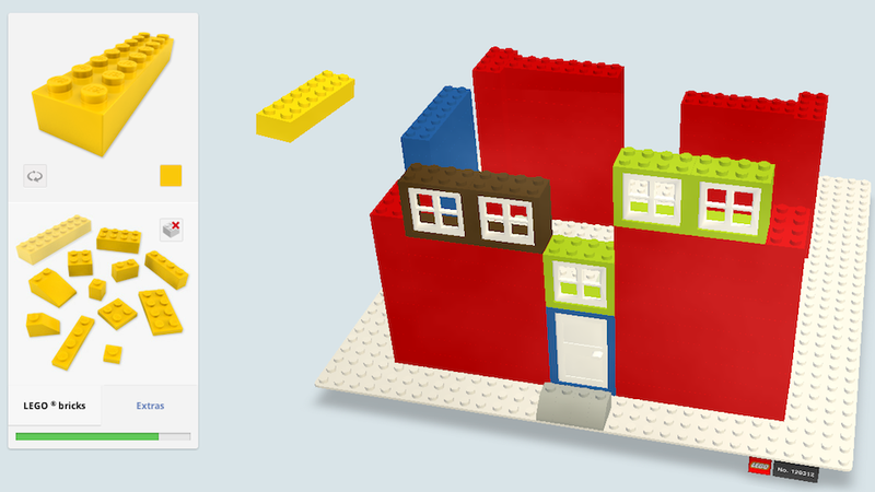 Build Your Own Super-Ugly LEGO House In Google Chrome