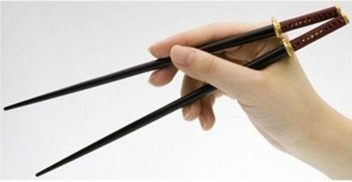 Samurai Sword Chopsticks Let You Seppuku Your Sashimi
