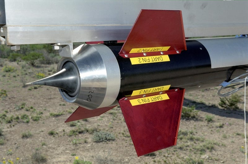 Aerospikes: the Inside-Out Rocket Engines