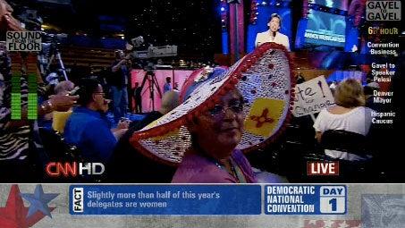 Democratic Convention A Battle Of Crazy Hats