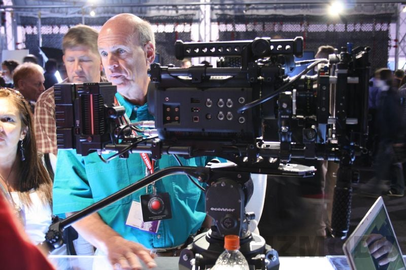 NAB07 Hands-On: Red One 4K Digital Cinema Camera Gallery