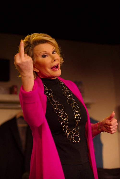 Joan Rivers: Talk To The Hand