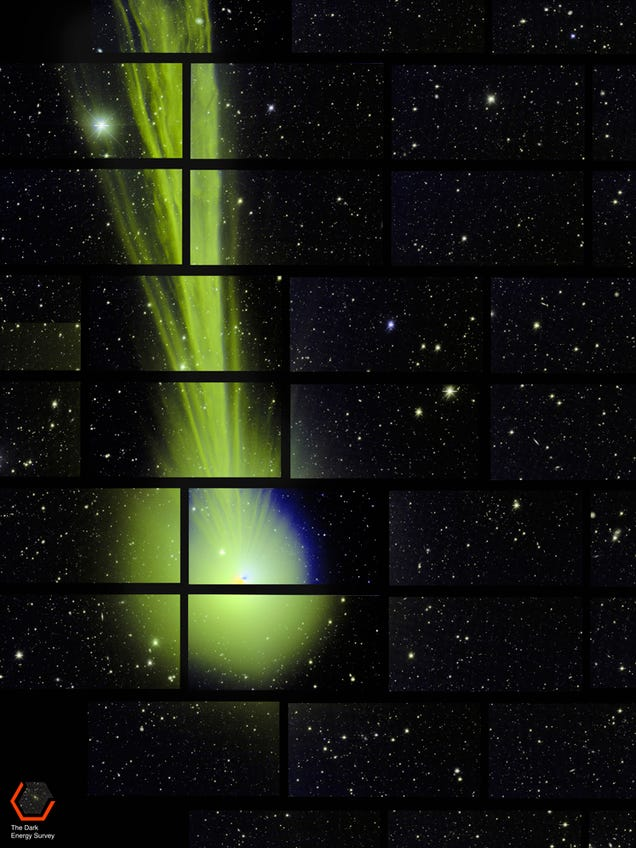 ThisAccidental Picture of Comet Lovejoy Is Also the Best