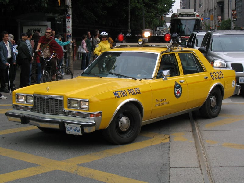 The Ten Ugliest Police Cars In America