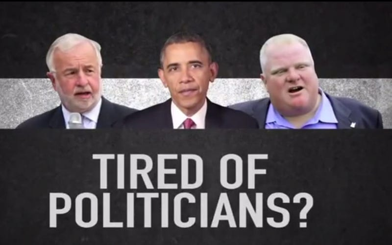 Barack Obama and Rob Ford Are Basically the Same Now