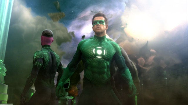 Movie Green Lantern Looks Slightly Less Ridiculous In Video Game Form