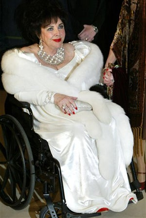 Screen Legend Liz Taylor Said To Be Extremely Ill