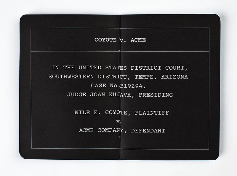 The Untold Legal Drama Of Coyote v. Acme