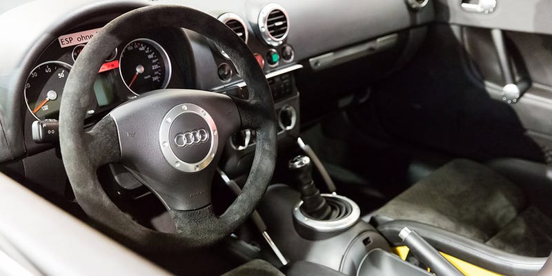 This Never Seen Audi TT Prototype Could Eat Porsche 911s For Breakfast