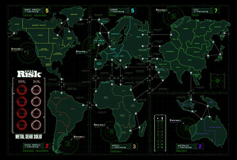 A Closer Look at the $50 Risk: Metal Gear Solid Limited Edition Board Game