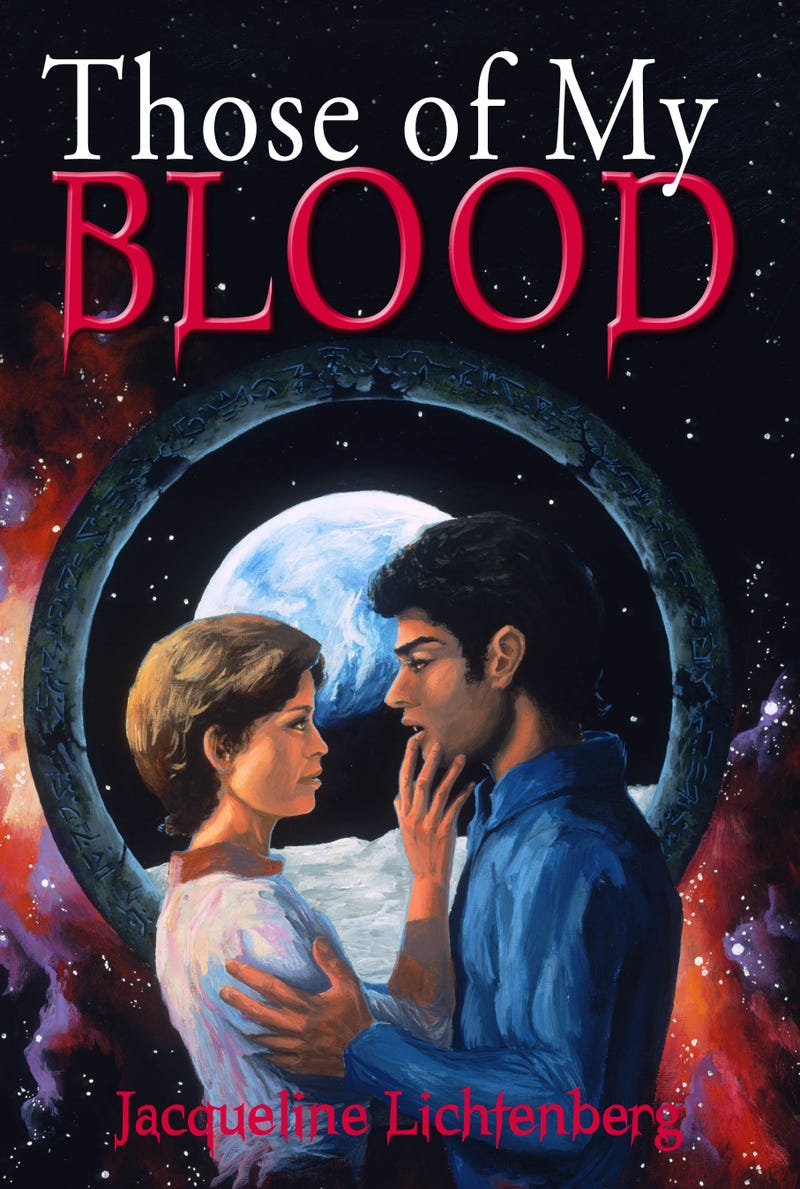A Vampire Love Story On The Moon, And Our New Favorite Book Cover