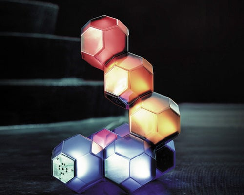 Just Your Average Modular, Magnetic Icosahedral LED Light Toy