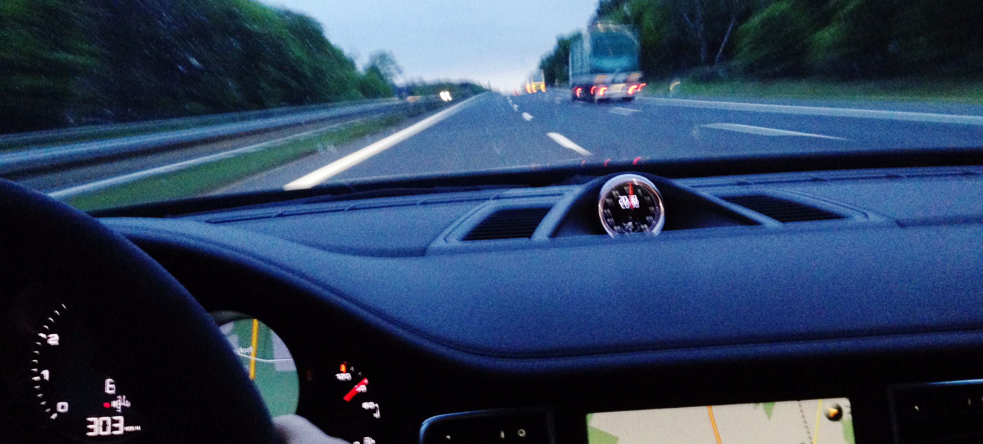 How I Found Myself In A Porsche Panamera Doing 188