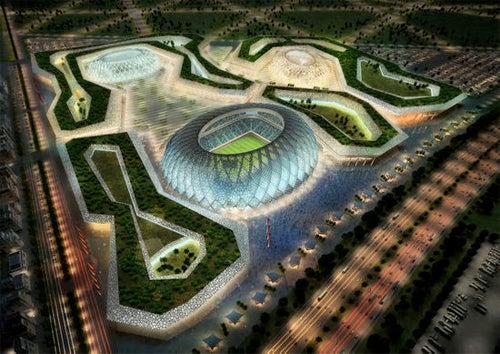Qatar Solar Stadiums Gallery