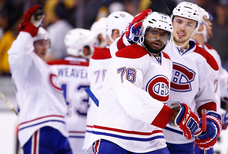 Bruins Condemn Fans Who Tweeted Racist Crap At P.K. Subban
