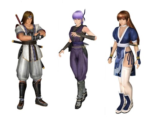 Here Are Some Dead Or Alive Nintendo 3DS Screens