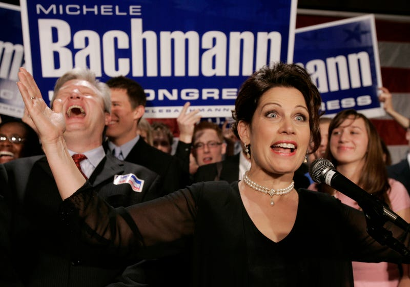 Michele Bachmann Rejects Swiss Citizenship Because God Bless America