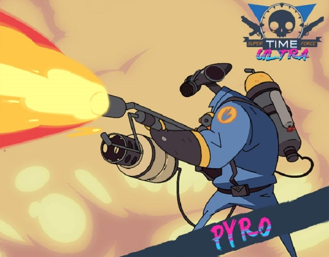Team Fortress 2 Characters Are Joining Super Time Force
