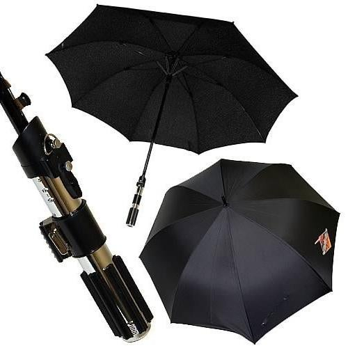Lightsaber Umbrella Uses the Force to Stop the Rain
