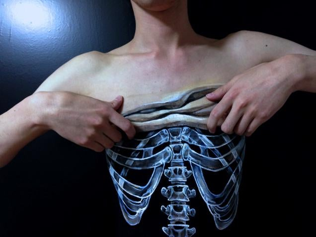 Not Everything Is as It Seems with This Body Art